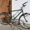 【ランドナーカスタム】ドロップからライザーにハンドル交換! 格安パーツで乗りやすくオシャレなクロスバイク風カスタム に挑戦