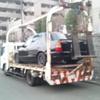横浜市から放置車両をレッカー車で廃車の引き取り撤去しました。