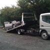 東久留米市から車検切れのパンクの故障車をレッカー車で廃車引き取りしました。