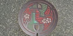 岐阜県多治見市のマンホール