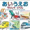 【子育て】電車好きな子が文字や数字に興味をもつ絵本