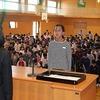 月曜朝会 学校探検 第1回地域連携協議会