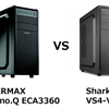 【PCケース】ENERMAX Fulmo.Q ECA3360とSharkoon SHA-VS4-Vの比較