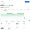 【高配当米国株】アッヴィ(ABBV)が前日比16.25%安と大暴落