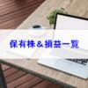 【株式】保有株一覧(2019.1.18時点)  MYポートフォリオはマザーズに負けるも好調に推移!