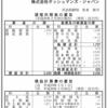 株式会社オッシュマンズ・ジャパン 第34期決算公告