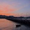 「ホアヒンビーチ」~ビーチフロントからフィッシングピアからまでの夕景を眺める!!