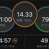 10km閾値走