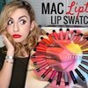 MAC Liptensity Lip Swatches | Full Collection