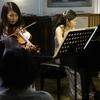 Brahms's complete sonatas ② in Sofia Saal Salon (駒込)