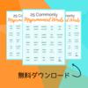初心者必見!日本人が間違いやすい英語発音リスト!無料プリント!