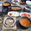 【済州島/中文】新年一発目ご飯はアワビ釜飯定食@소담명가/ソダムミョンガ