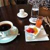 月曜日の朝は、ホテルで朝食を