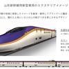 【山形新幹線】に新型車両【E8系】誕生、2024年よりE3系を置き換え、そして福島駅の改良、アプローチ線の設置