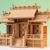 欅神殿 屋根違い三社 通し屋根三社 ケヤキの魅力