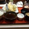 ワンコイン天ぷら定食。