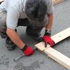 屋根葺きとすのこ作り