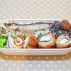 お弁当づくりの記録(2日分)/My Homemade Boxed Lunch/ข้าวกล่องเบนโตะที่ทำเอง