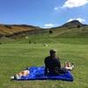 エディンバラ ホリルードパークで最高のピクニック日和