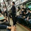 通勤電車が混んできたなあ。
