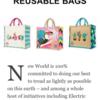 スーパーとかのプラスチック袋が減らされていく!☆