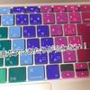 Macbookの可愛いキーボードカバーとケースを買った。