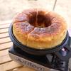 キャンプ飯 キャンプ場でパン焼いちゃいました。たみさんのパン焼き器編。