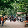 ラマ9世公園の青空ジム