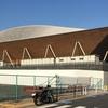 豊洲のオリンピック会場と江戸前場下町