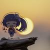黄昏時を味わう ~岩井海岸~