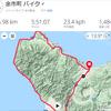積丹半島一周137km