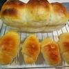 貝印のパウンド型で焼く黒糖くるみパンと3色豆パン