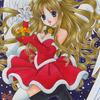 「サンタの天使」:色ムラ女王その2