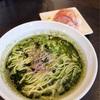 弘明寺丿貫で、特濃浅蜊ニラ蕎麦と、蟹ミソの和え玉@弘明寺