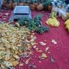パイナップル屋台