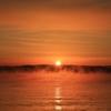 錦江湾の朝陽