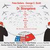 壮大なブラックユーモアに満ちたキューブリックの『博士の異常な愛情』(Dr. Strangelove)