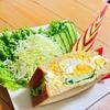 ローソンのブランパンを使った卵のデビルズサンドレシピ【糖質オフレシピ】