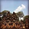 @アンコールワット個人ツアー(306) @バンテアイスレイ寺院と観光地
