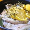 豚肉のレモン煮込み、タイム風味