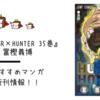 【新刊情報】ついに連載再開!『HUNTER×HUNTER 35巻』が2月2日に発売しますよー!