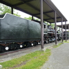 岩見沢市のSL保存機 C57 144とD51 47