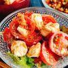 トマトとクリームチーズのおかか和え(動画レシピ)/Tomato and cream cheese with dried bonito.