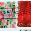 Oscar de la Rentaの美しすぎる切手