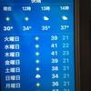 恐ろしい暑さ!?・今日の天気
