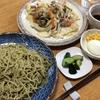 茶蕎麦・野菜炒め