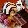 【和食のさと】昼下がりに「さとカフェ」でチョコレートパフェを食べて完全犯罪を遂行する