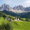 思い出の旅行写真④フネスの谷(イタリア・ドロミテ地方)