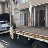 東松山市から車検が切れたパンクの不動車をレッカー車で廃車の引き取りしました。