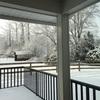なんですか雪景色